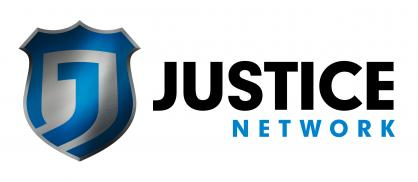 Justice Network Logo: White Background